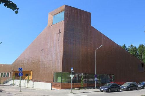 Suvelan Kappeli Kirkko Espoossa