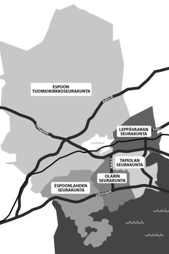 Tietoa Espoon Seurakunnista Kirkko Espoossa