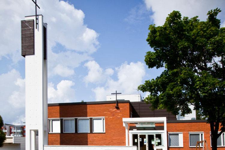 Karakappeli Kirkko Espoossa